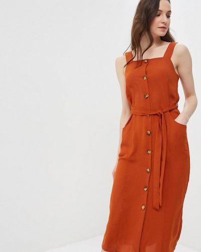 Оранжевый сарафан Dorothy Perkins