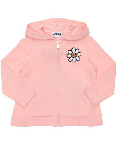 Bluza, różowy Moschino