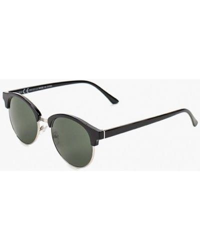 Черные солнцезащитные очки Topman