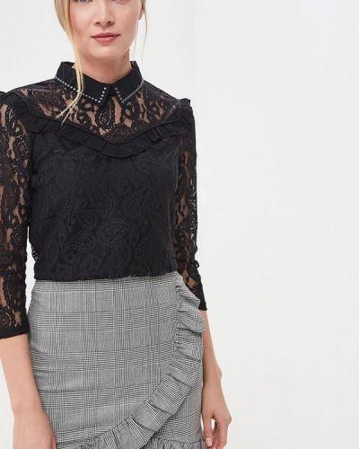 Черная блузка Naf Naf