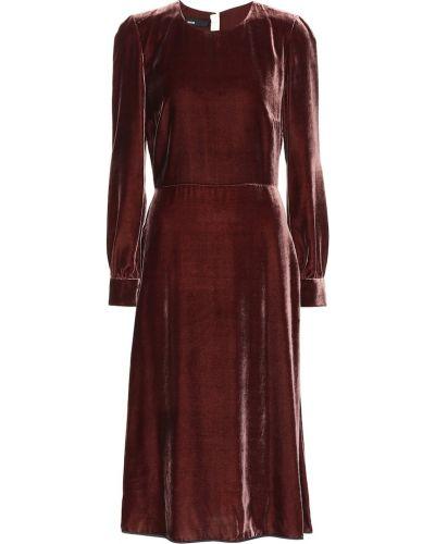 Платье мини из вискозы шелковое Rochas