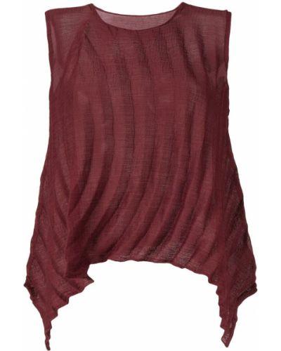 Блузка без рукавов с цветочным принтом Issey Miyake Cauliflower