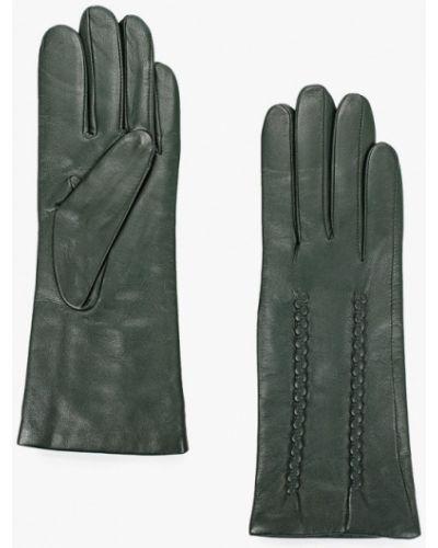 Кожаные зеленые кожаные перчатки Lantana