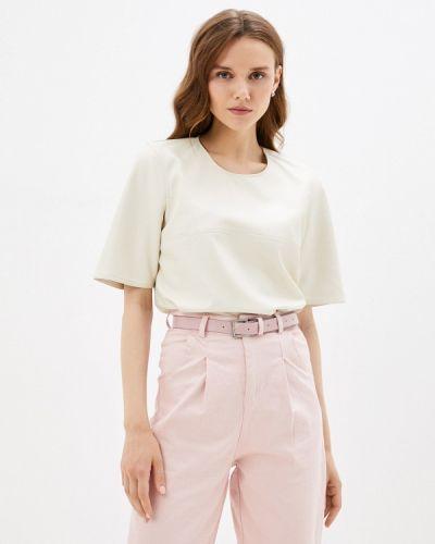 Блузка с короткими рукавами - бежевая Twist & Tango