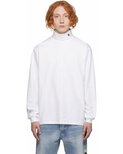 Biały sweter bawełniany Misbhv