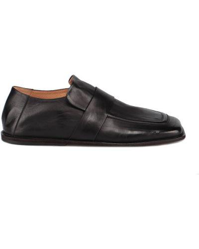 Czarne loafers Marsell