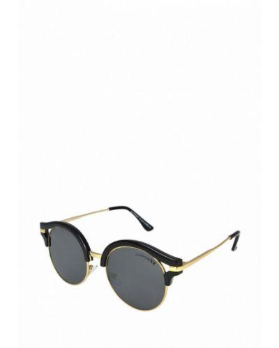 Солнцезащитные очки золотого цвета Luckylook