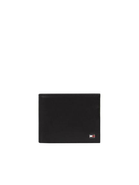 Czarny portfel skórzany Tommy Hilfiger