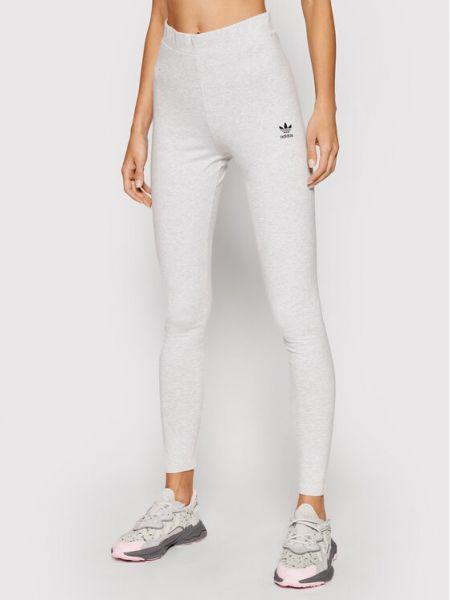 Szare legginsy Adidas Originals