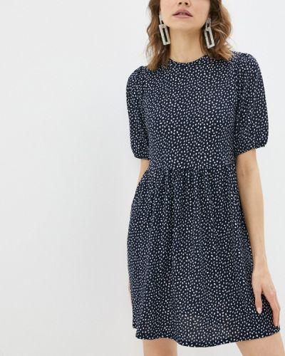 Прямое синее платье А-силуэта Ovs