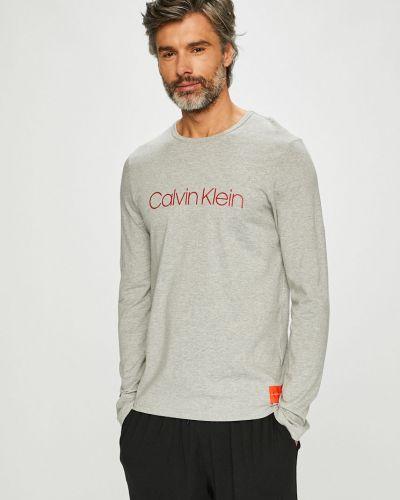 Пижама с принтом светло-серый Calvin Klein Underwear