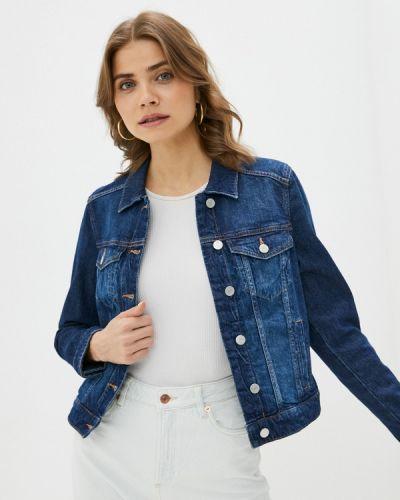 Синяя джинсовая куртка Q/s Designed By