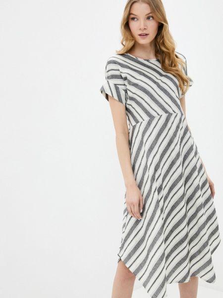Серое платье Mari Vera