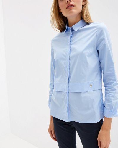 Джинсовая рубашка с длинным рукавом Trussardi Jeans