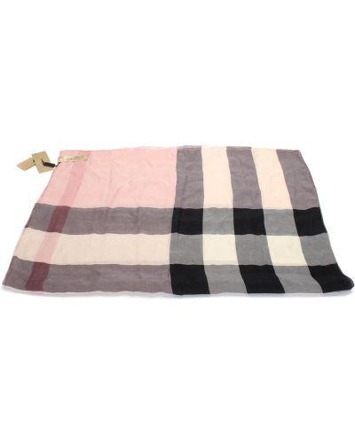 Różowy szalik Burberry Vintage