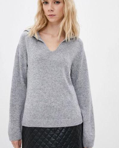 Пуловер - серый Iblues