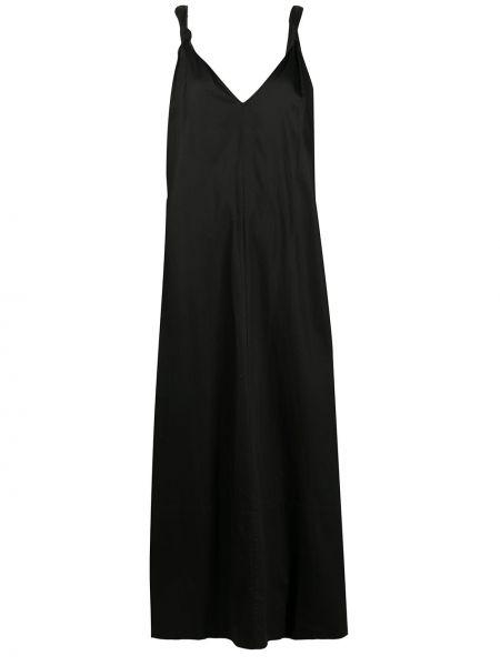 Платье макси оверсайз с V-образным вырезом Co
