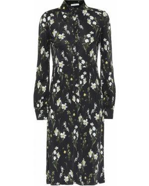 Платье миди с цветочным принтом английский Erdem