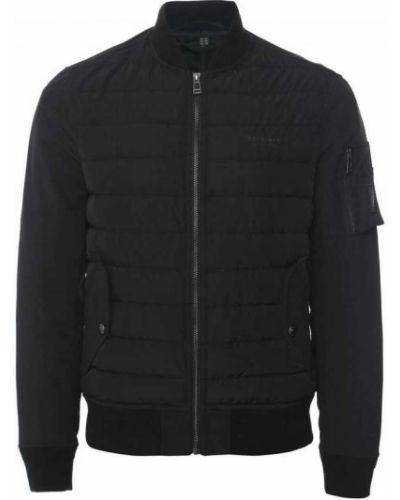 Czarna kurtka pikowana Belstaff