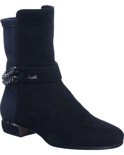 Кожаные ботинки осенние на каблуке Loriblu