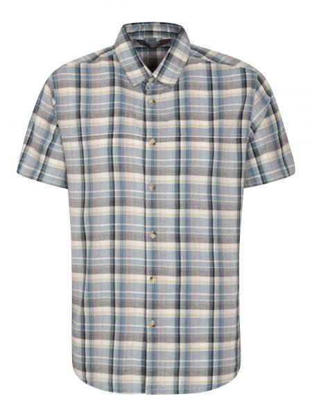 Koszula bawełniana - fioletowa Mountain Warehouse