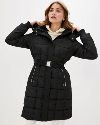 Черная утепленная куртка Wallis