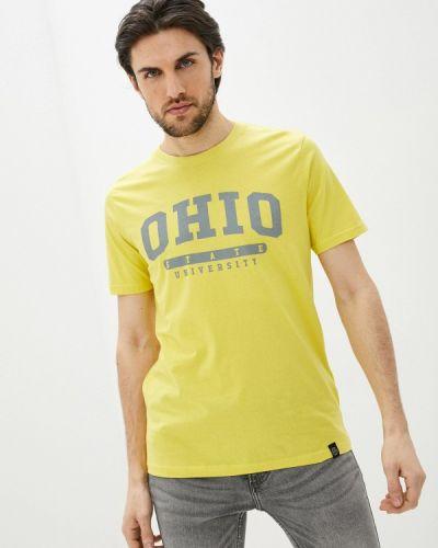 Футболка с короткими рукавами - желтая Shine Original