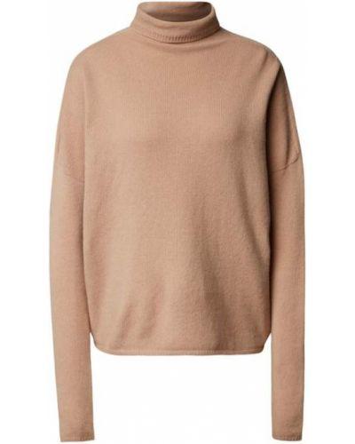 Beżowy sweter dzianinowy Drykorn