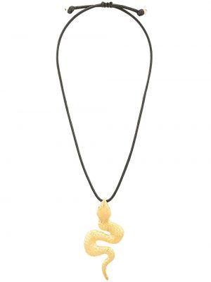 Ожерелье позолоченное желтый Natia X Lako