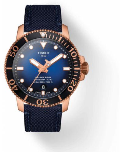 Niebieski zegarek sportowy Tissot