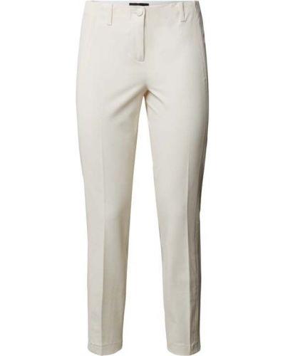 Białe spodnie bawełniane Cambio