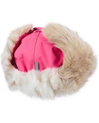 Зимняя шапка розовый шапка-ушанка Huppa