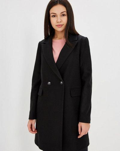 Черное пальто Dorothy Perkins