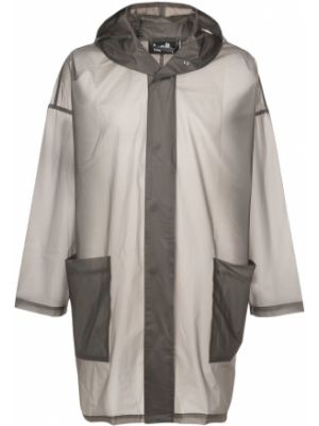 Brązowa kurtka z kapturem z długimi rękawami Haculla