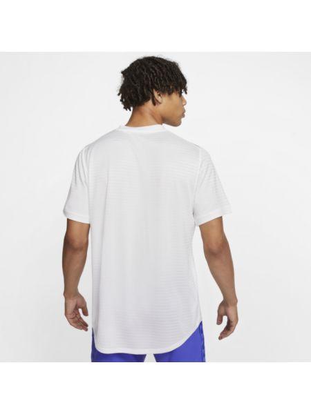 Koszula krótkie z krótkim rękawem z paskami w paski Nike