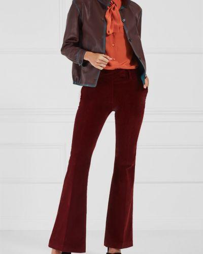 Классические брюки вельветовые со стрелками Prada