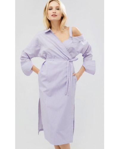 Фиолетовое платье весеннее Cardo