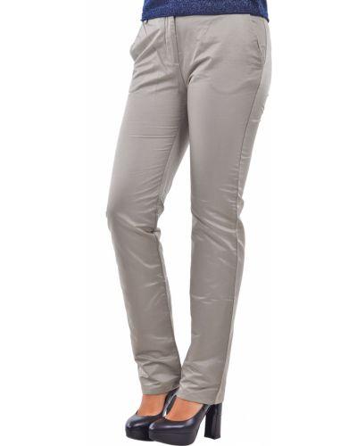 Серые брюки хлопковые Dolce & Gabbana