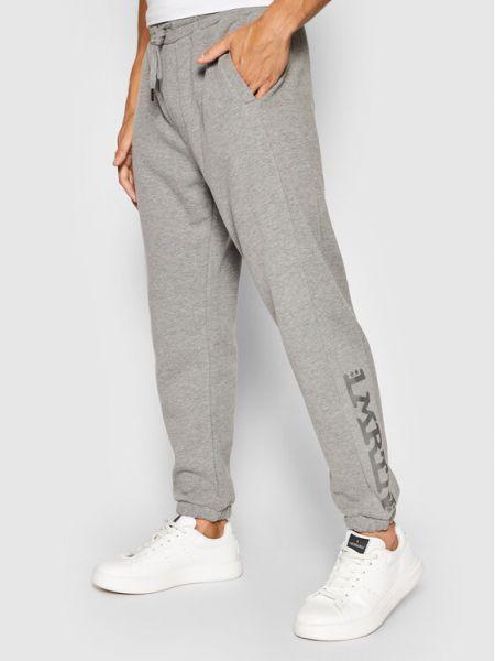 Szare spodnie dresowe La Martina
