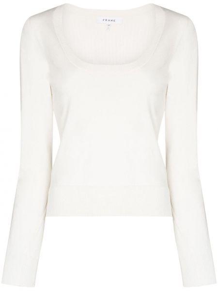 Белый свитер Frame