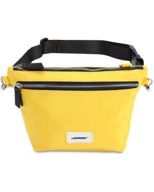 Żółty pasek z paskiem The Bags