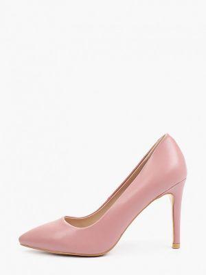 Розовые кожаные туфли Diora.rim