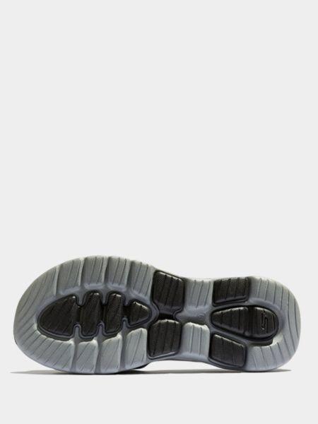 Черные шлепанцы Skechers
