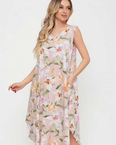 Повседневное розовое платье Magnet