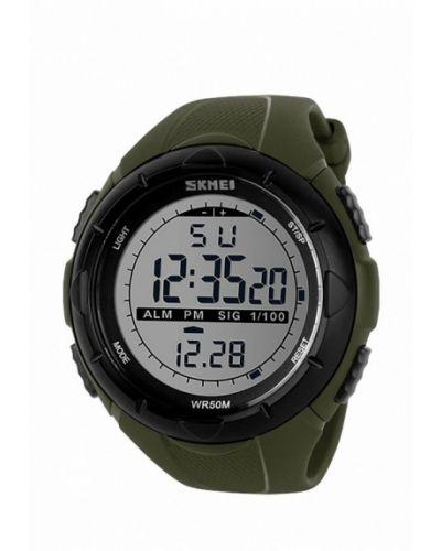 Зеленые часы Skmei