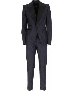 Dżinsowa garnitur włoski kostium Dsquared