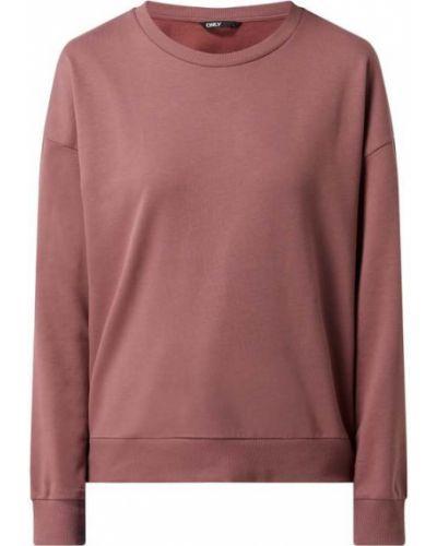 Różowa bluza bawełniana Only