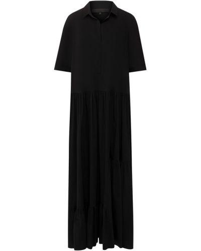 Платье мини макси с отложным воротником Tegin