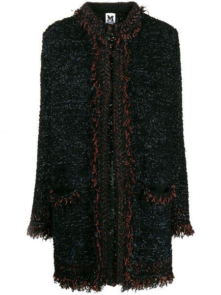 Пальто с капюшоном металлическое с бахромой M Missoni