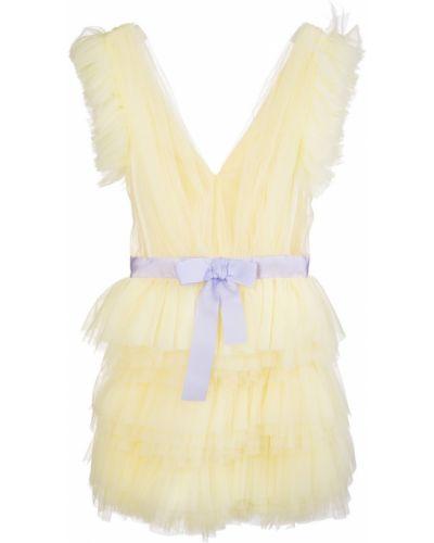 Żółta sukienka Teen Idol